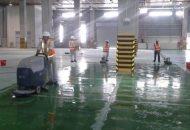 dịch vụ vệ sinh chà sàn bê tông